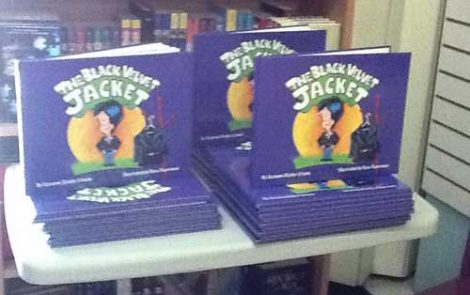 """The Black Velvet Jacket"" Book Launch at Oink Oink Westmount"