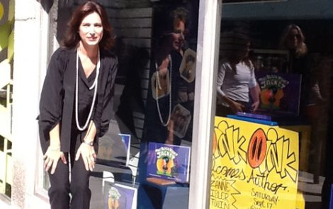 """The Black Velvet Jacket"" Book Launch at Oink Oink Westmount"