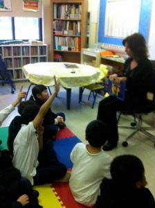 """""""The Black Velvet Jacket"""" Reading & Book Signing at Parkdale Elementary School - English Montreal School Board"""
