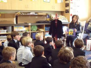 """The Black Velvet Jacket"" Reading & Book Signing at Selwyn House School"