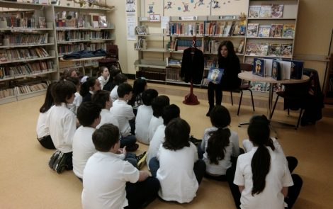 """The Black Velvet Jacket"" Reading & Book Signing at Pierre de Coubertin Elementary School"
