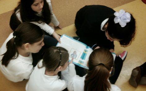 """The Black Velvet Jacket"" Reading & Book Signing at Pierre de Coubertin Elementary School"