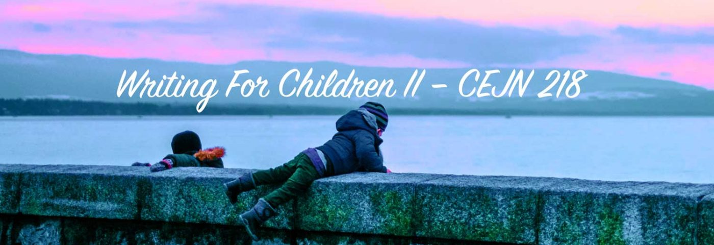 Writing For Children II – CEJN 218