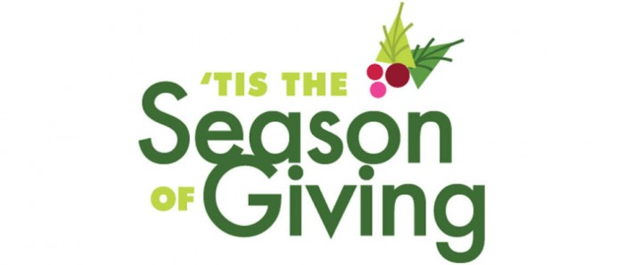 'Tis The Season of Giving