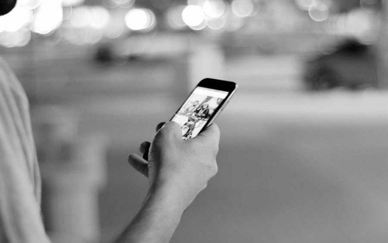 Holding Cellphone