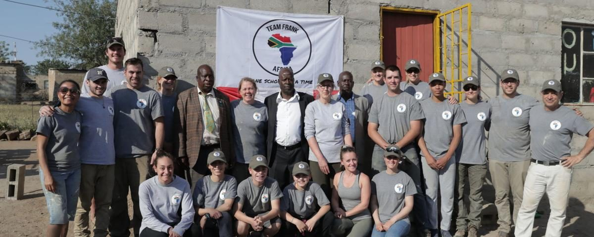 Team Frank Africa – One School at a Time